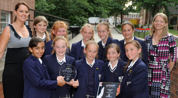 GSAL Junior School Netball Team Win Top Award