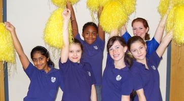 Junior School Cheerleading