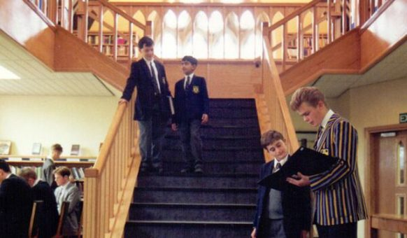 Pupils at the Staircase