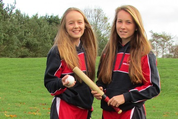 WEB U14 England rounders U14 players Jessie Ducker and Sophie Lancaster