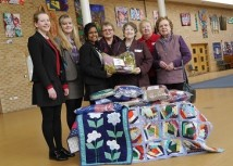 WEB WI members donate blankets for Malawi