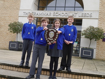 WEB Talbot Primary Maths Challenge winners 2014