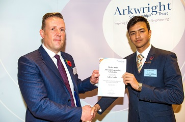 England, UK . 29.10.2015. London . Arkwright Scholarship Awards. Copyright © 2015 Andrew Wiard - Phone: + 44 (0) 7973-219 201. Email - andrew@reportphotos.com.