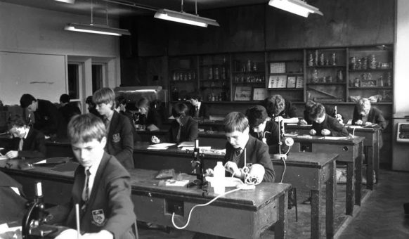 The Biology Lab Circa 1970