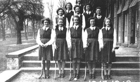 hockey girls 1948